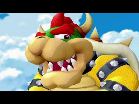 Super Mario Sunshine 100% Walkthrough - Part 15 - Bowser Boss Fight & Ending Credits