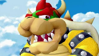 Super Mario Sunshine 100% Walkthrough - Part 15 - Bowser Boss Fight & Ending Credits