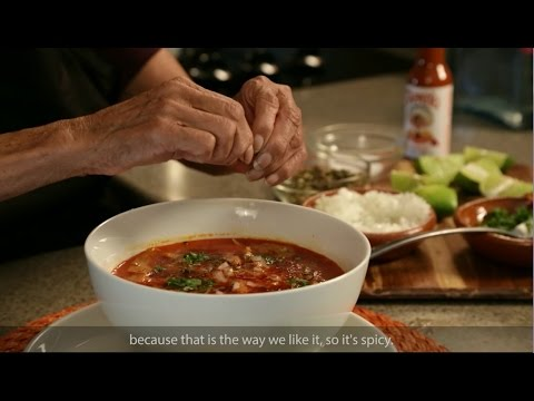Menudo recipe: Abuela's Kitchen cooks with Rumba Meats
