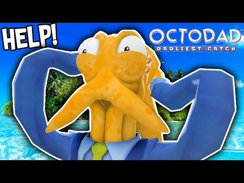 OCTODAD STRANDED ON A DESERT ISLAND!!