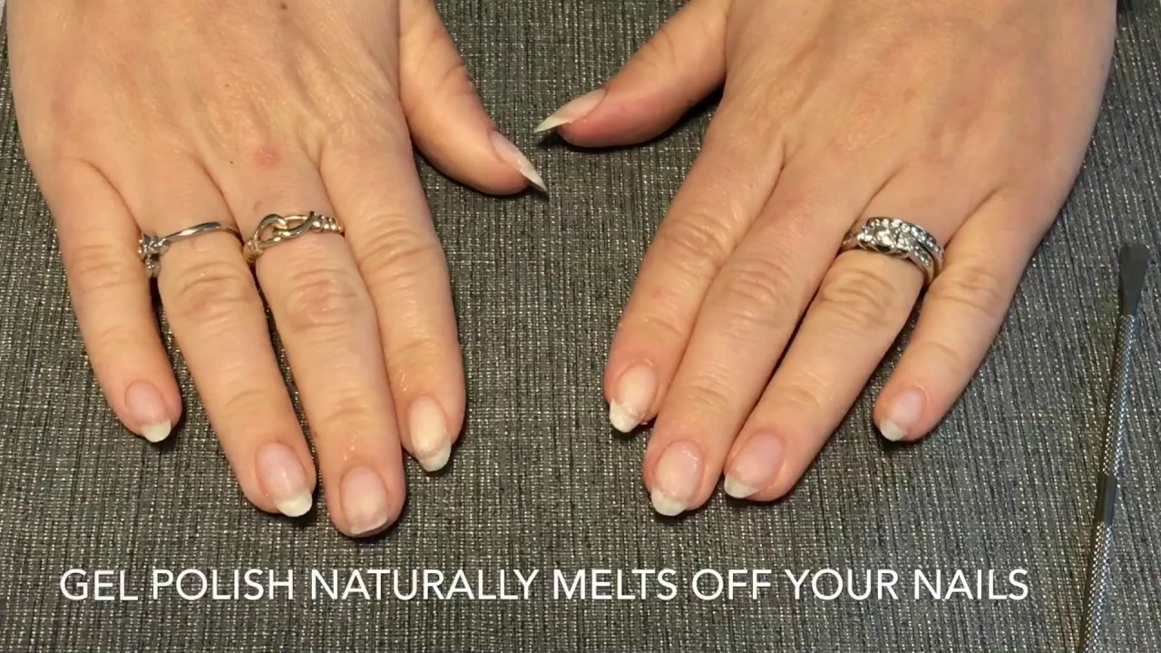 How To Remove Gel And Acrygel Nails At Home Easy Soak Off