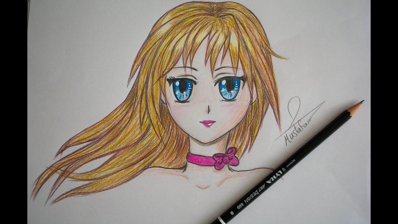 تعلم رسم انمي How To Draw Anime Youtube
