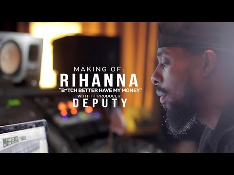 "Deputy breaks down the beat for Rihanna ""Bitch Better Have My Money"""
