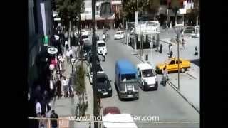 Malatya'da Mobese Kameraları Tarafından Kayıt Altına Alınan Kazalar