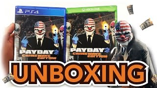 Payday 2 CrimeWave Edition (PS4 & Xbox One) Unboxing!!