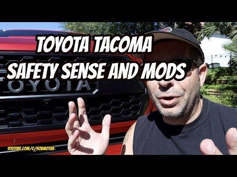Toyota Safety Sense Won't Work With Tacoma Mods?