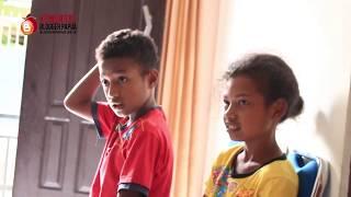 Suasana Belajar di Sekolah Blogger Papua