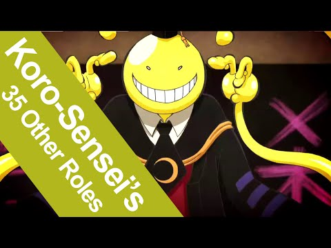 35 Characters That Share The Same Voice Actor As Assasination Classroom's Koro-Sensei