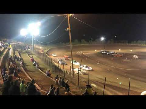 10-5-2019 I-77 Speedway - Steel Block Late Model heat race