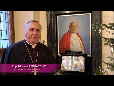 Abp Pennacchio: 20 lat temu otrzymałem święcenia biskupie z rąk św. Jana Pawła II