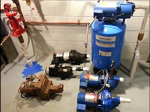 Well Jet Pumps And Adjusting Pressure Switches Youtube