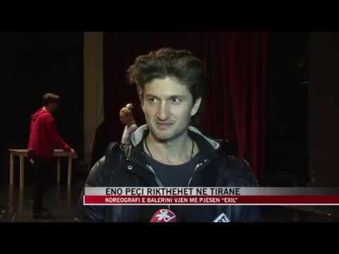 """Eno Peçi rikthehet në Tiranë, vjen me pjesën """"Exil"""" - News, Lajme - Vizion Plus"""