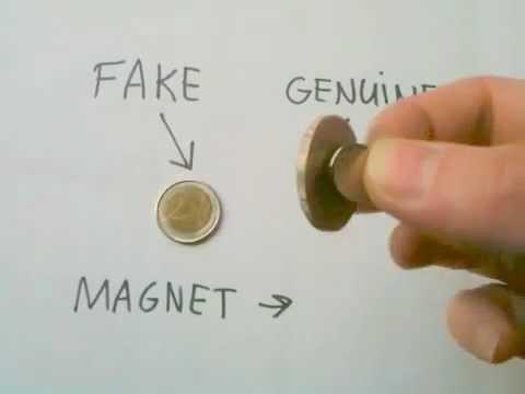 Fake / counterfeit euro coin: How to check