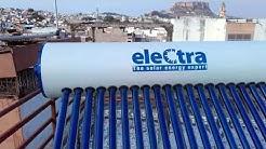 Electra solar water heater.