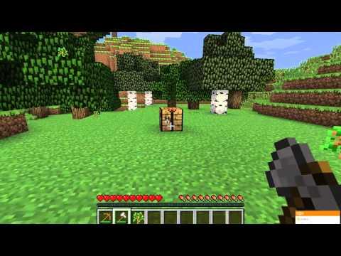 Обучение игры minecraft ( 1 серия )