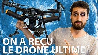 Test du drone DJI Matrice M210 avec Z30