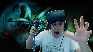 Подводный ужасный ХОРРОР! НЕВЕДОМА ТВАРЬ в Narcosis!  VR   Виртуальная реальность
