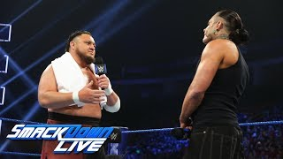 "Samoa Joe ""apologizes"" to Jeff Hardy: SmackDown LIVE, Dec. 18, 2018"