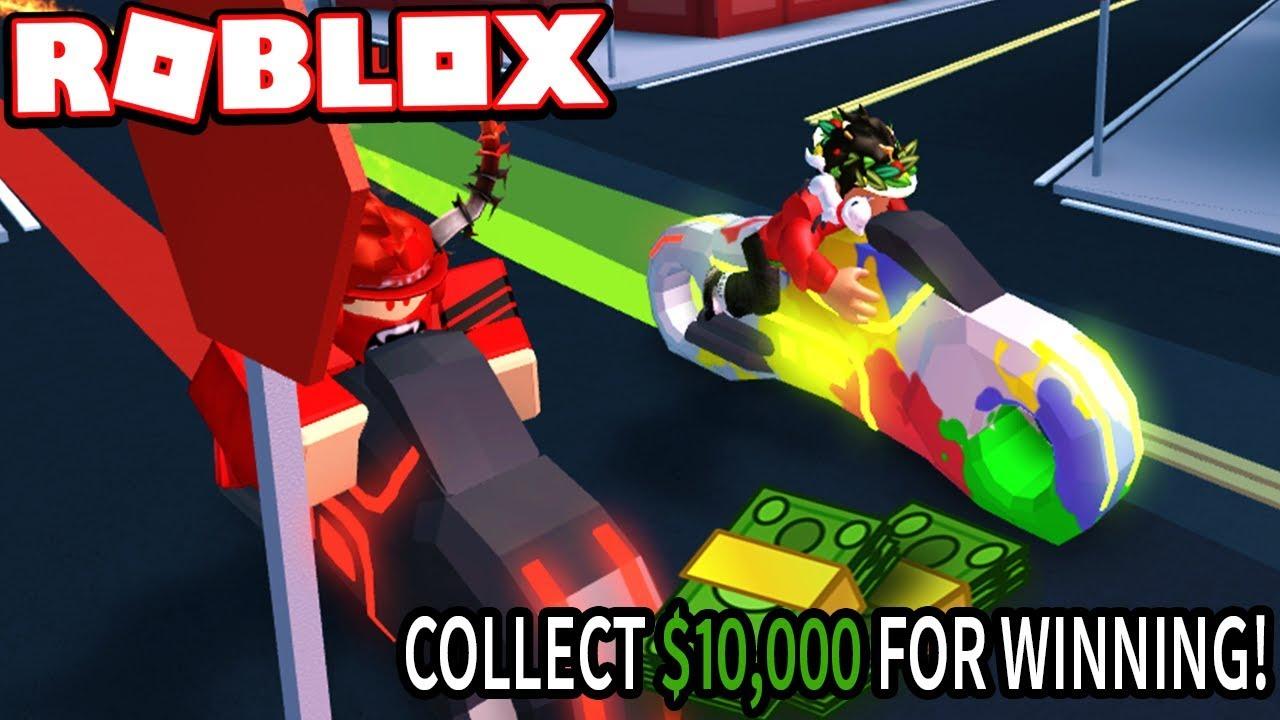 fbab080f530 FAN BAMBOOZLED ME FOR $10,000 - VOLT BIKE RACE!!! (Roblox Jailbreak ...