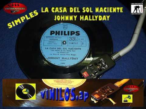 LA CASA DEL SOL NACIENTE  JOHNNY HALLYDAY