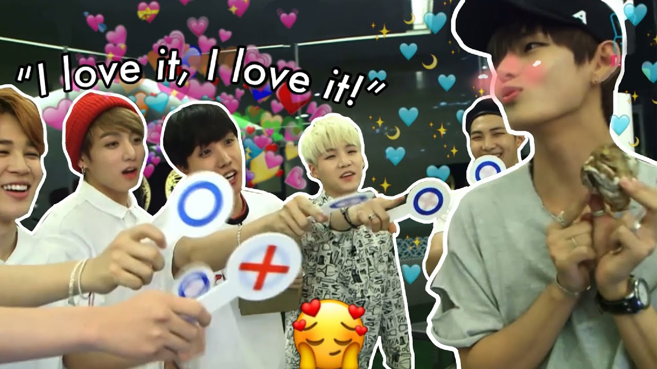 part 2 BTS giving into Taehyung and his cuteness | whatever taetae wants, taetae gets
