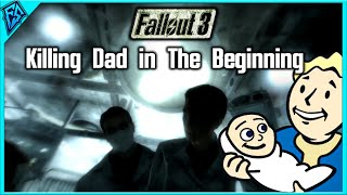 Fallout 3 - Killing Dad in the Beginning
