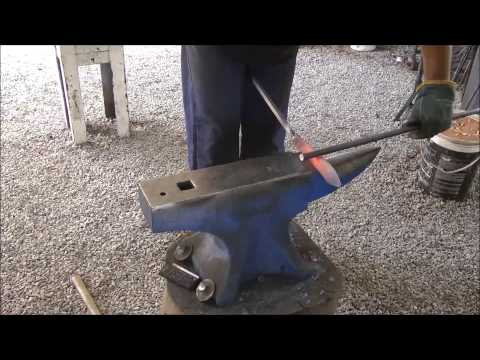 Forging a Knife - Full Process Explained in detail