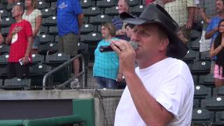 Marty Brown Sings the National Anthem