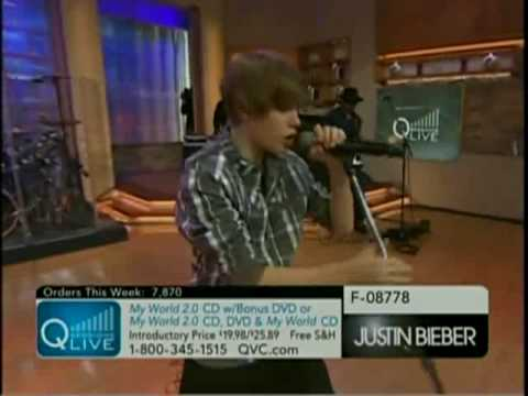 Justin Bieber - Never Let You Go (Live On QVC)