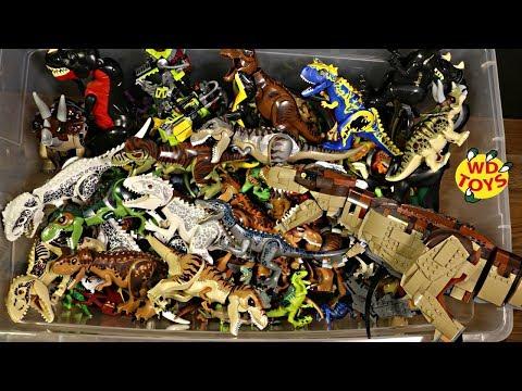 200 Lego Jurassic World 2 Fallen Kingdom Dinosaur Toys Dinosaur Adventures Original & Knockoff