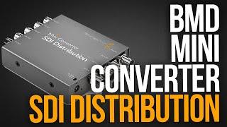BLACKMAGIC DESIGN MINI CONVERTER SDI DISTRIBUTION | Unboxing