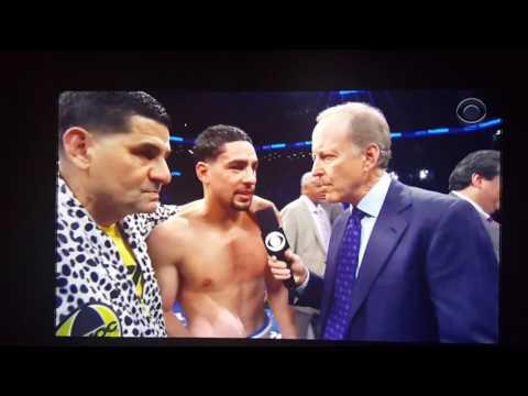 Post fight interview Keith thurman vs danny garcia