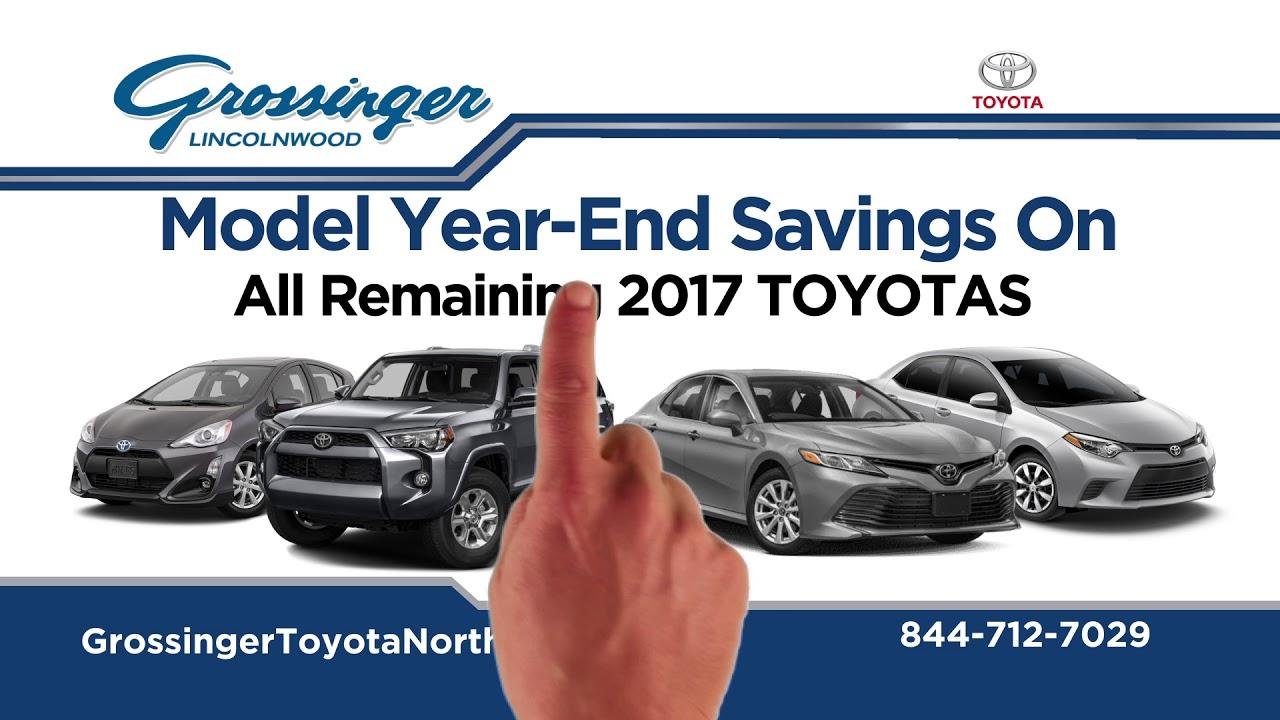 Grossinger Toyota North Black Friday 2017