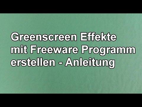 Greenscreen Effekt Mit Kostenloser Software Vsdc Erstellen