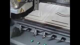 Видео Фрезерный станок с ЧПУ DT 1325 ATC(Краткий видео-обзор работы Фрезерного станка с ЧПУ (модель DT-1325-ATC) с автоматической (линейной) сменой инстру..., 2012-12-13T11:54:31.000Z)