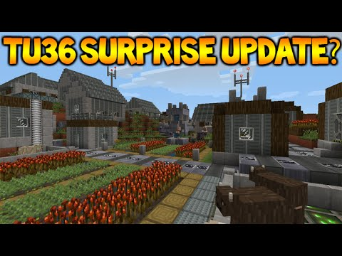 Minecraft Xbox One - Title Update 36 SURPRISE Update Released + Configuration Changes