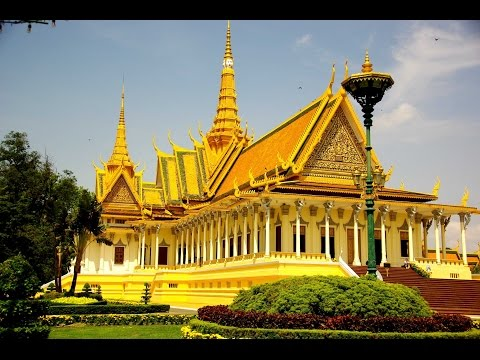 Travel guide view of Royal Palace in Phnom Penh Part 1 - Visit Cambodia 2017