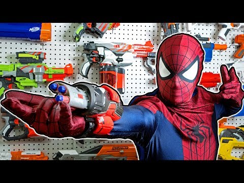 Thumbnail: NERF WAR: SPIDERMAN HOMECOMING
