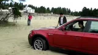 ZhiQing testing BMW X3 offroad