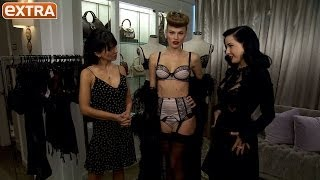 Dita Von Teese Shows Off Her Sexy New Lingerie Line