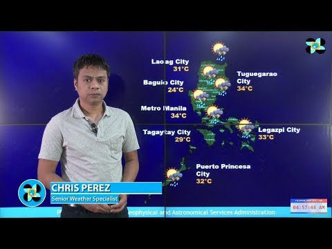 Public Weather Forecast Issued at 4:00 AM September 17, 2017