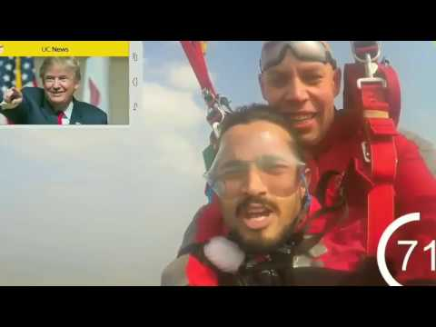 *OMG*BB KI VINES aka BHUVAN BAM PLANE JUMP (15000ft)|UC Talks|