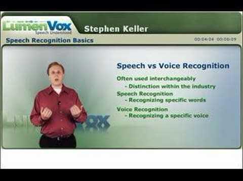Speech Recognition Basics, Part 1