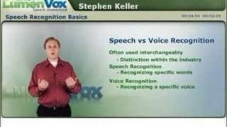 Speech Recognition Basics, Part 1