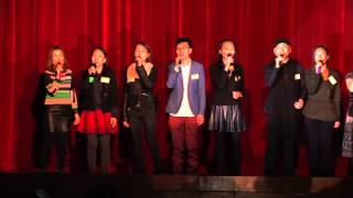 青松中學 建校三十周年慶典暨文藝匯演 主題曲大合唱