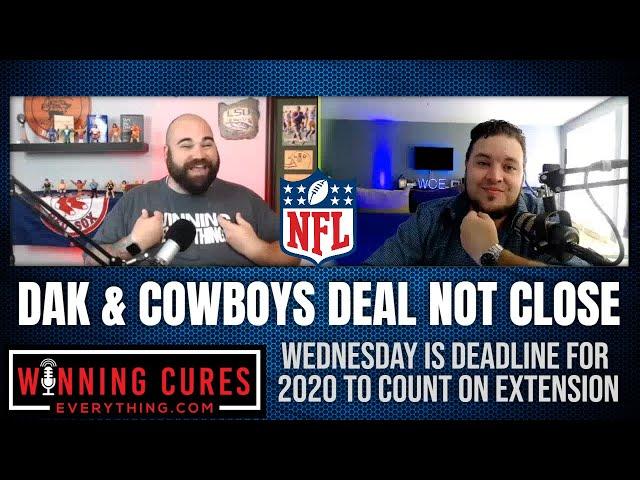 Dak Prescott & Dallas Cowboys are not close to long term contract