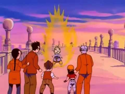 Dragon Ball GT Goku vs Vegeta
