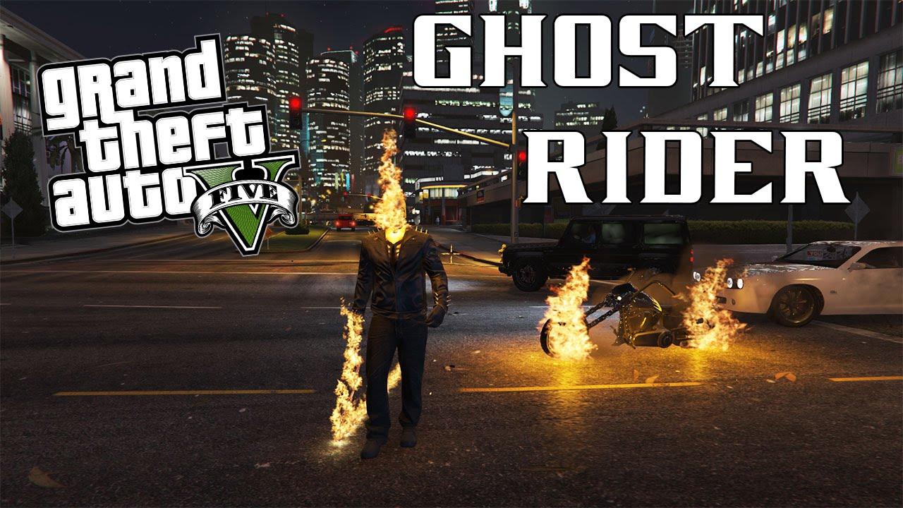GTA V Ghost Rider Mod