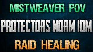 Protectors ToES - 10 Man Normal - Mistweaver Monk POV - Raid Healing