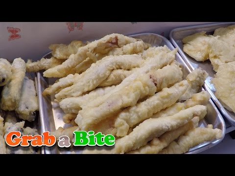 Deep-fried Foods (Twigim : 튀김) - Korean Street Food [Part 13]